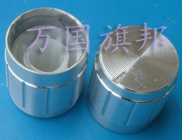 Free Delivery. Potentiometer knob Aluminum knob silver lace 16 mm, 15 mm 15 * 16 mm in diameter