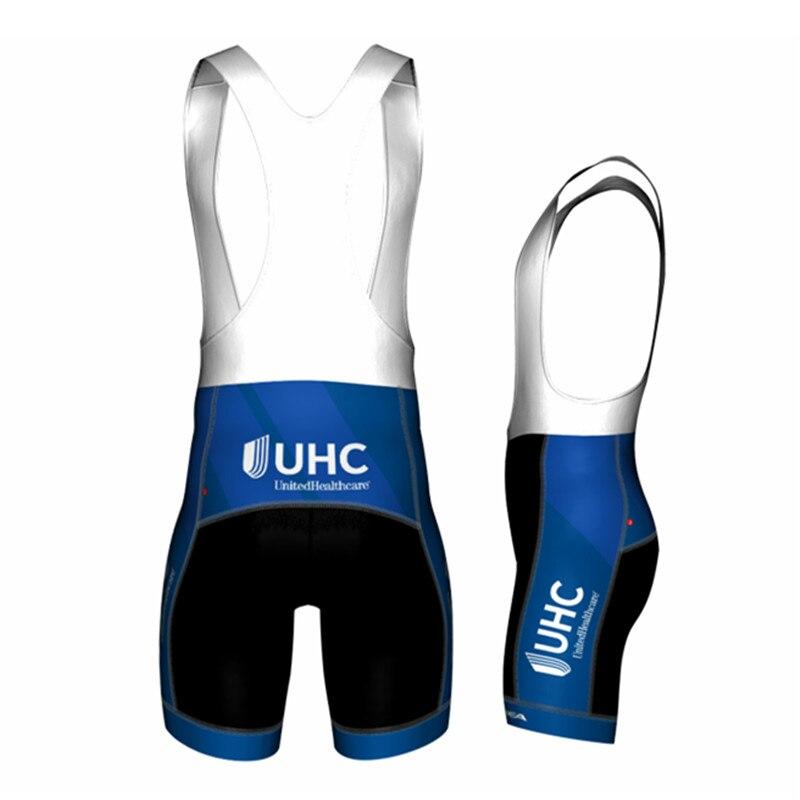 Jakroo UHC Team Uniform Men's Cycling Bib Shorts MTB Road Bike Quick Dry Breathable Cycling Shorts 5 Layers TS Men's Cushion шорты баскетбольные k1x hardwood league uniform shorts