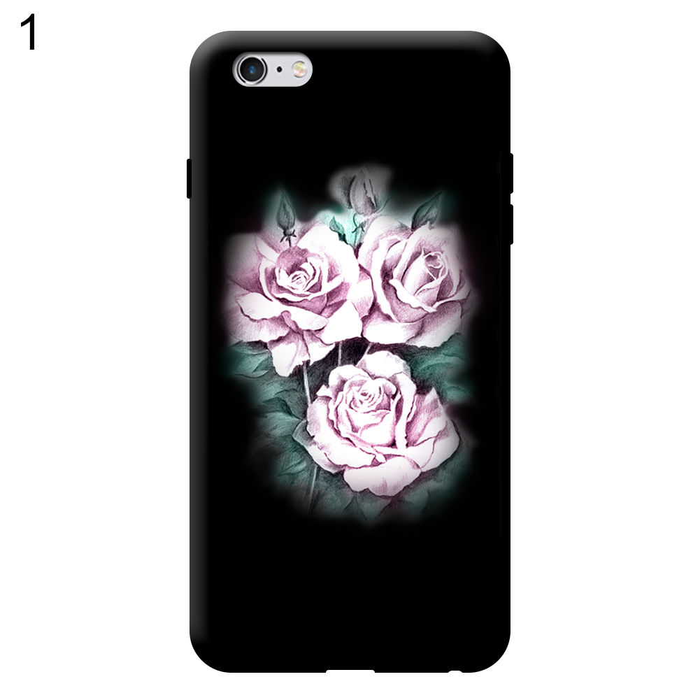 Rose Touch Screen Full Coverage Case Cover for iPhone 5 6