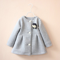 Kids Jackets For Girls Spring Autumn Style Toddlers Children Clothing Solid Casual 2 3 4 5