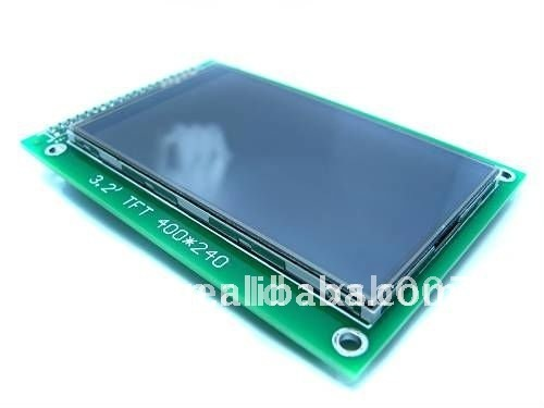 "free shipping,3.2"" TFT LCD Module Display (400*240)+ Touch Panel + PCB adapter, wholesale price"
