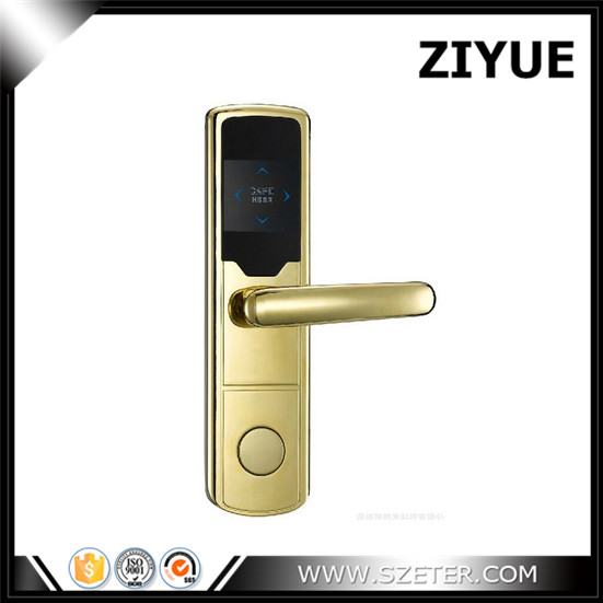 Hotel Room Card Key System Hotel Lock RFID Electronic Hotel Lock  ET668RF digital electric best rfid hotel electronic door lock for flat apartment