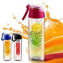 700 ml-800 ml y carne de la fruta infusión infusión de mi mejor botella de agua deportes salud lemon juice hacer botella de ciclismo taza de camping