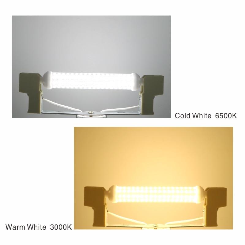 Купить с кэшбэком LATTUSO R7S LED Lamp 6W 9W 12W SMD 2835 78mm 118mm 135mm R7S LED Light Bulb AC220V Energy Saving Replace Halogen Light
