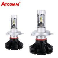 ATcomm H1 LED Mini Car Headlights Bulb ZES Chip 12000Lm 12V H7 9005HB3 9006HB4 24V H11 H8 LED Lamp For Carro Truck Voiture