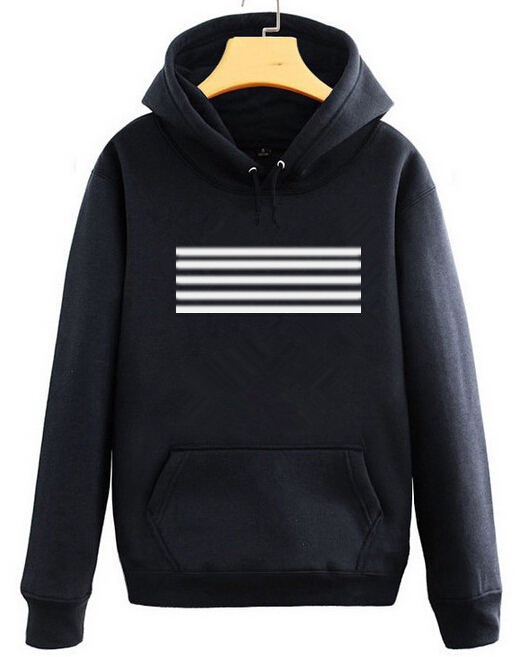 Bigbang concert same made stripes printing hoodies gd top black white pullover sweatshirt vip's supportive tracksuits