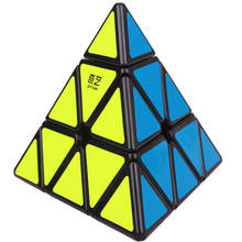 QIYI Pyramid Magic Speed Cubes Puzzle Professional Cube QiYi Pyramidcube Educational  Christmas Toys For Kids Adult