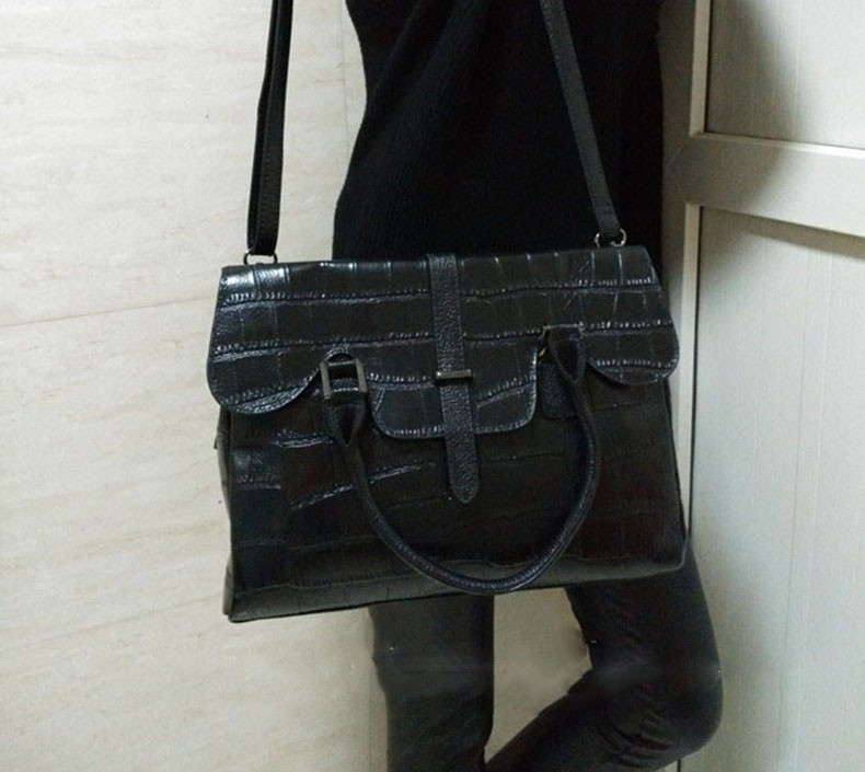 High Quality PU Leather Women's Handbags Shoulder Bag Ladies Hand Bags Stone Casual Women Bag Large Capacity Handbag 17 Sac 1
