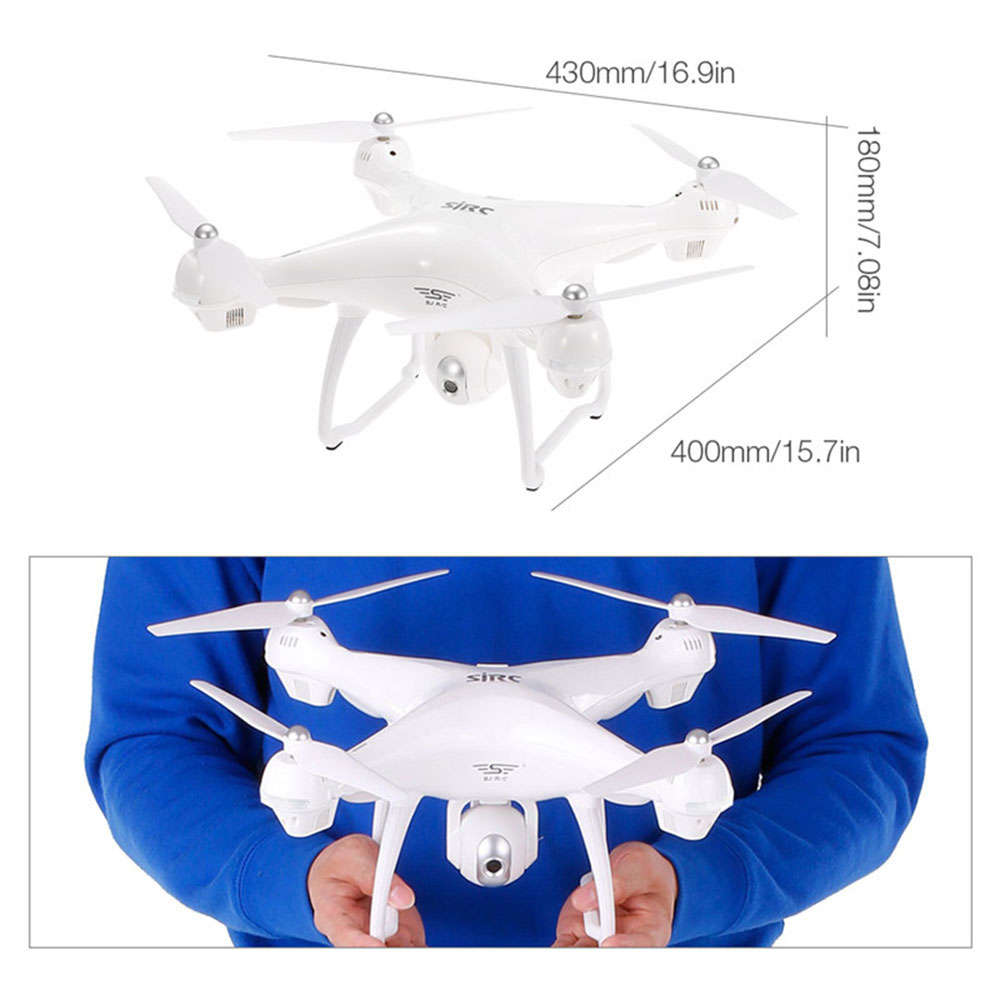 Квадрокоптер летательный Дрон 400 м 1080 P двойной gps FPV автоматический возврат WiFi FPV в режиме реального времени один ключ снять Премиум движение камеры