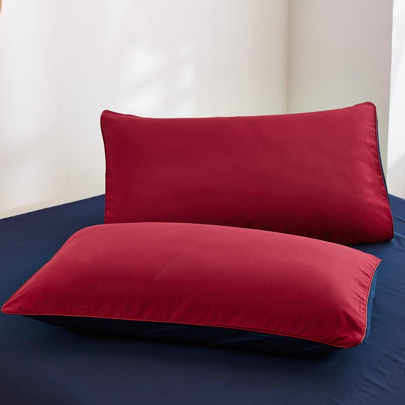 70x70cm Special Custom Ru Size Double Family Europe Pillowcase Square  Pillowcover 70*70cm ,7 Color Choose,red  Rose&blue