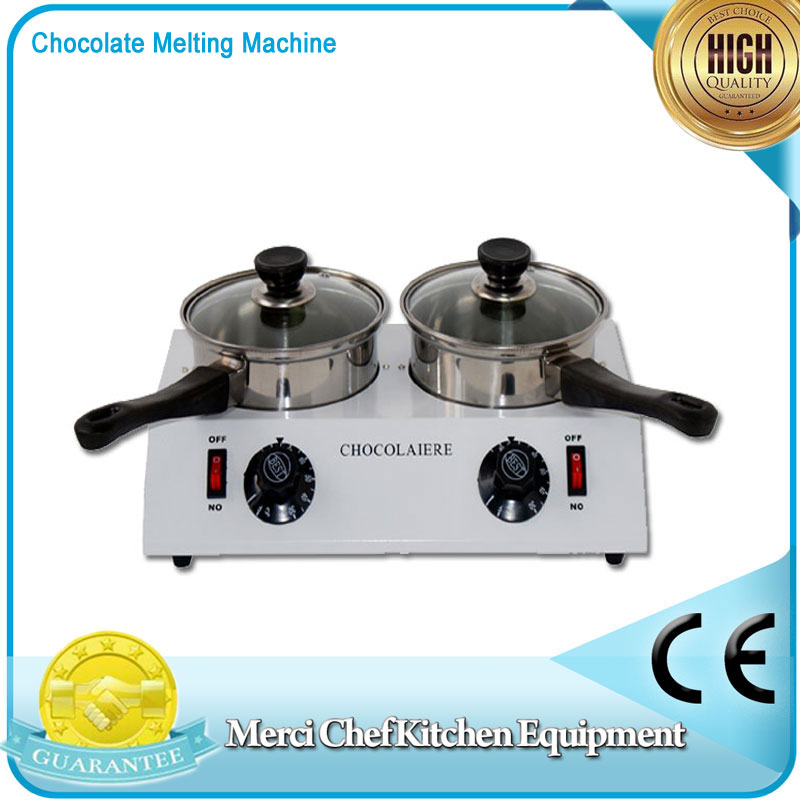 Hot sales Food Processor Chocolate melting machine Chocolate melting pot 2 pots Free Shipping To Some Country fast shipping food machine 6 layers chocolate fountains commercial chocolate waterfall machine with full stainless steel
