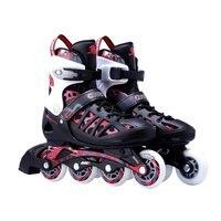 Unisex Erwachsene Skating Schuhe Professionelle einreihige Rollschuhe Schuhe Einstellbar Inline-skating Schuhe Roller Skating