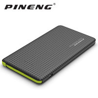 Pineng Power Bank 5000mAh External Battery Portable Mobile Phone Charger Dual USB For IPhone 5 6