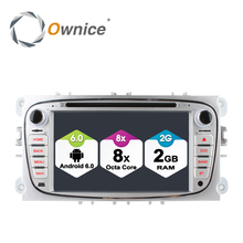 Ownice C500 Android 6.0 Octa 8 Core Coches Reproductor de DVD Para FORD Mondeo S-MAX Connect FOCO 2 2008-2011 Con Radio GPS 4G LTE Red