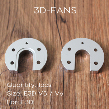 1 шт., Reprap Kossel для E3D V5 V6, Горячий Конец, алюминиевый сплав, Groove, крепление, конский копыт, CNC, 3D принтер, детали, высокое качество