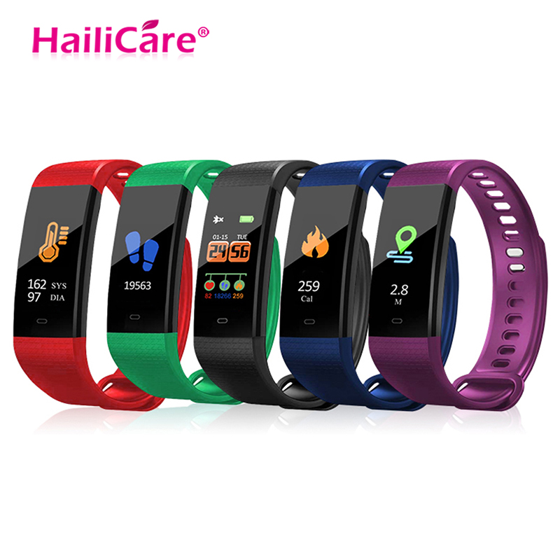 Smart Wrist Watch Waterproof Fitness Sports Bracelet Men Women Blood Pressure Heart Rate Monitor Sleep Monitor For Android IOS