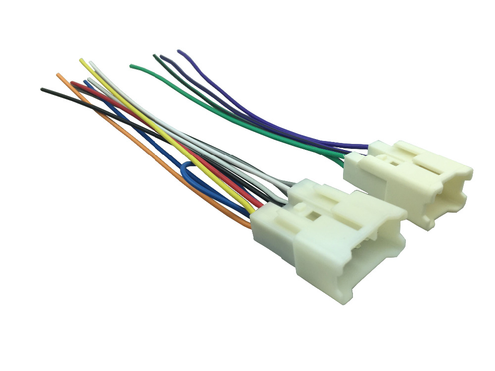 popular aftermarket cd player wire harness buy cheap aftermarket universal stereo cd player wiring harness for toyota wire adapter aftermarket radio plugs 1 pair
