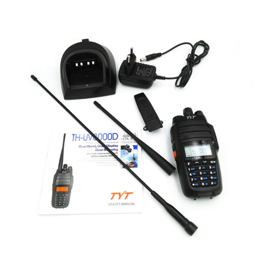 Radio bidireccional 10W TYT TH-UV8000D 136-174 / 400-520MHz Banda - Radios - foto 4