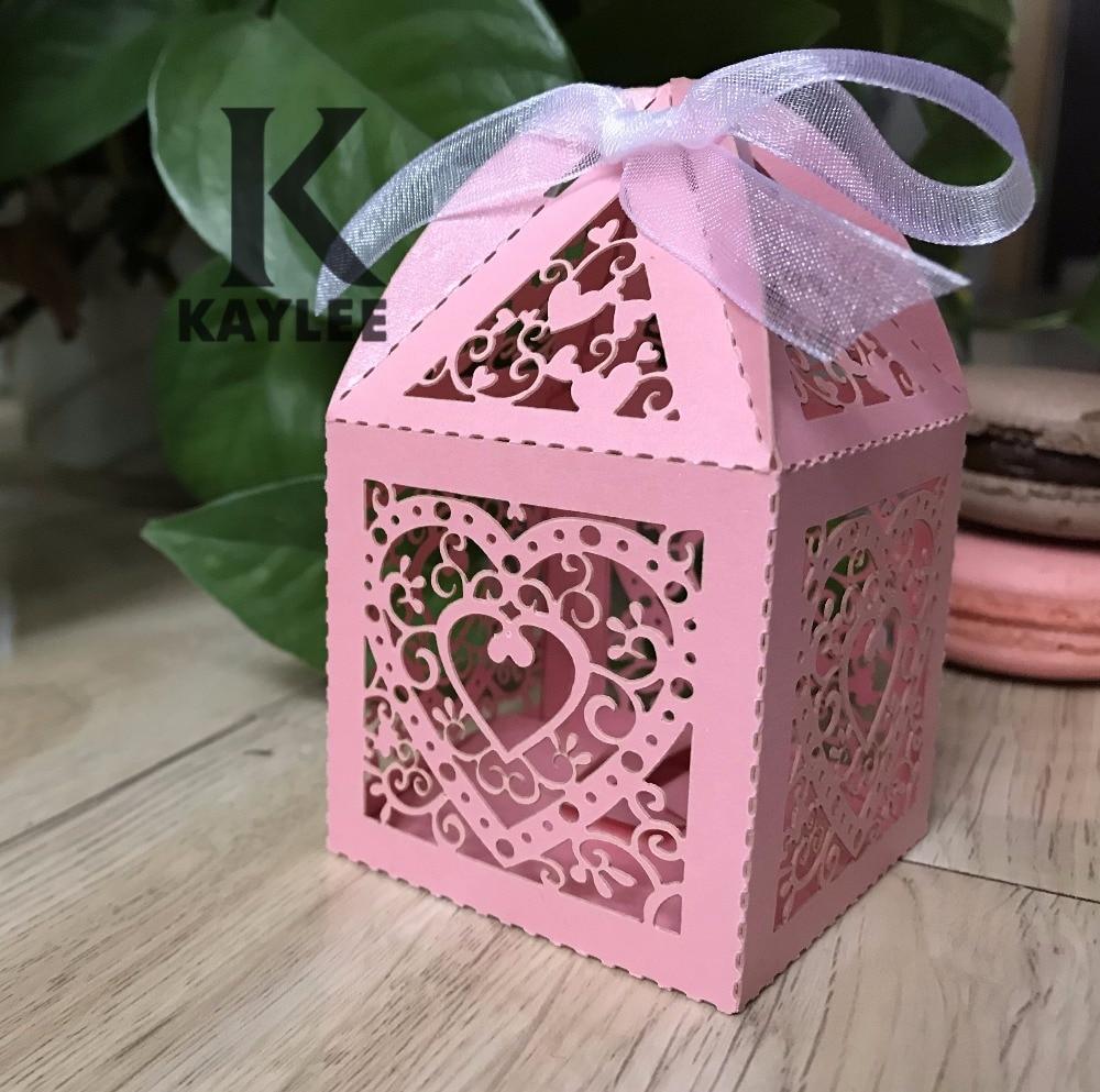 Hot Sale Heart Design Candy Box,100pcs Decorative Weddding Gift ...