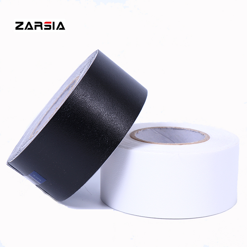 ZARSIA 1Reel 550cm Tennis Racket Dedicated Racket Protector/racket Head To Reduce Impact And Friction Sticker (black/white)