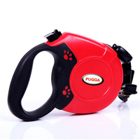 5M Retractable Dog Leash Automatic Extending Pet Walking Leads With Waste For Small Medium Large Dogs