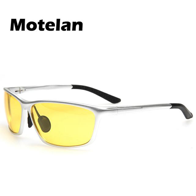 Anti-reflexo Anti-reflexo Moda Polarizada Hd Óculos De Sol Óculos de Proteção UV óculos de Visão Noturna Noite Clássico Esportes Ao Ar Livre