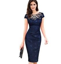 Женские Платья для женщин Вышивка жаккардовые платья выдалбливают Ruched  Карандаш Bodycon Вечеринка платье плюс Размеры( a0c8321ed3e9a