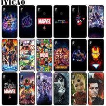 Los Vengadores final Marvel Hombre de Hierro Thanos suave funda de teléfono para Xiaomi Redmi Note 8 7 5 6 K30 K20 Pro Tom Holland cubierta