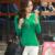Más el Tamaño S-3XL Camiseta Top 2017 de Corea Del Delgado de La Manera Del Otoño Del Resorte v-cuello de La Camiseta Mujeres de Manga Larga Camisetas de Algodón Casual Tops B177