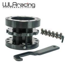 WLR RACING-черный Регулируемый 40 мм до 70 мм распорка рулевого колеса BOSS HUB KIT WLR-SWF21