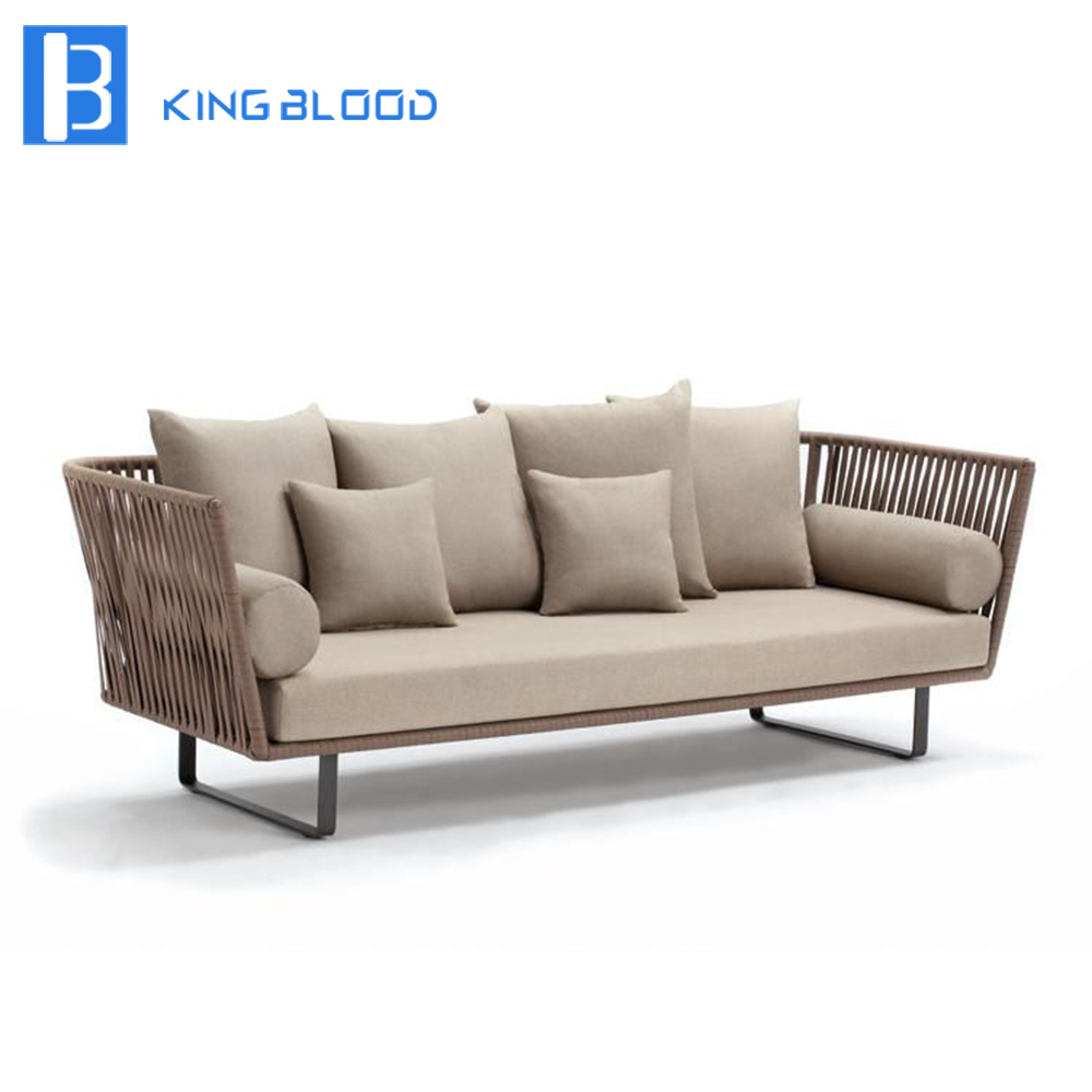 Woven Rope Outdoor Sofa And Chairs Furniture