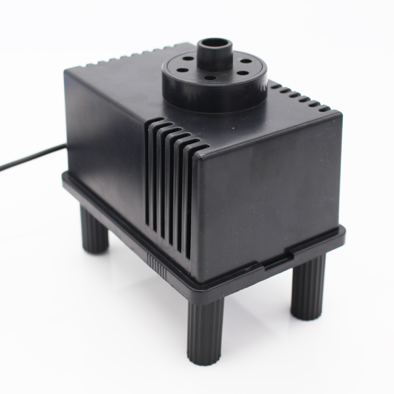Solar garden water fountain floating submersible pump dc for Water pump filter box