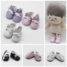 5CM PU Leather Mini Toy Shoes For EXO Dolls Fit For 14.5 Inch Doll As For BJD Accessories Girl Dolls Gift Toys Free Shipping 1pair 2pcs 3 5cm fashion plastic doll shoescsuit for blythe licca jb bjd dolls accessory toy parts