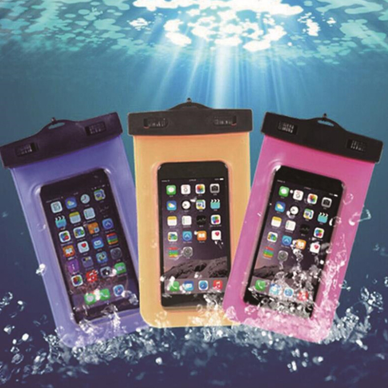 Waterproof Underwater Mobile Phone Case Bag Pouch for iPhone 6 6s plus 5 5c 5s 4s for Samsung galaxy s7 s6 s5 s4 for huawei