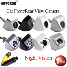 Hippcron Auto Achteruitrijcamera Reverse & Front & Infrarood Camera Nachtzicht Voor Parking Monitor Waterdichte Ccd Hd Video(China)