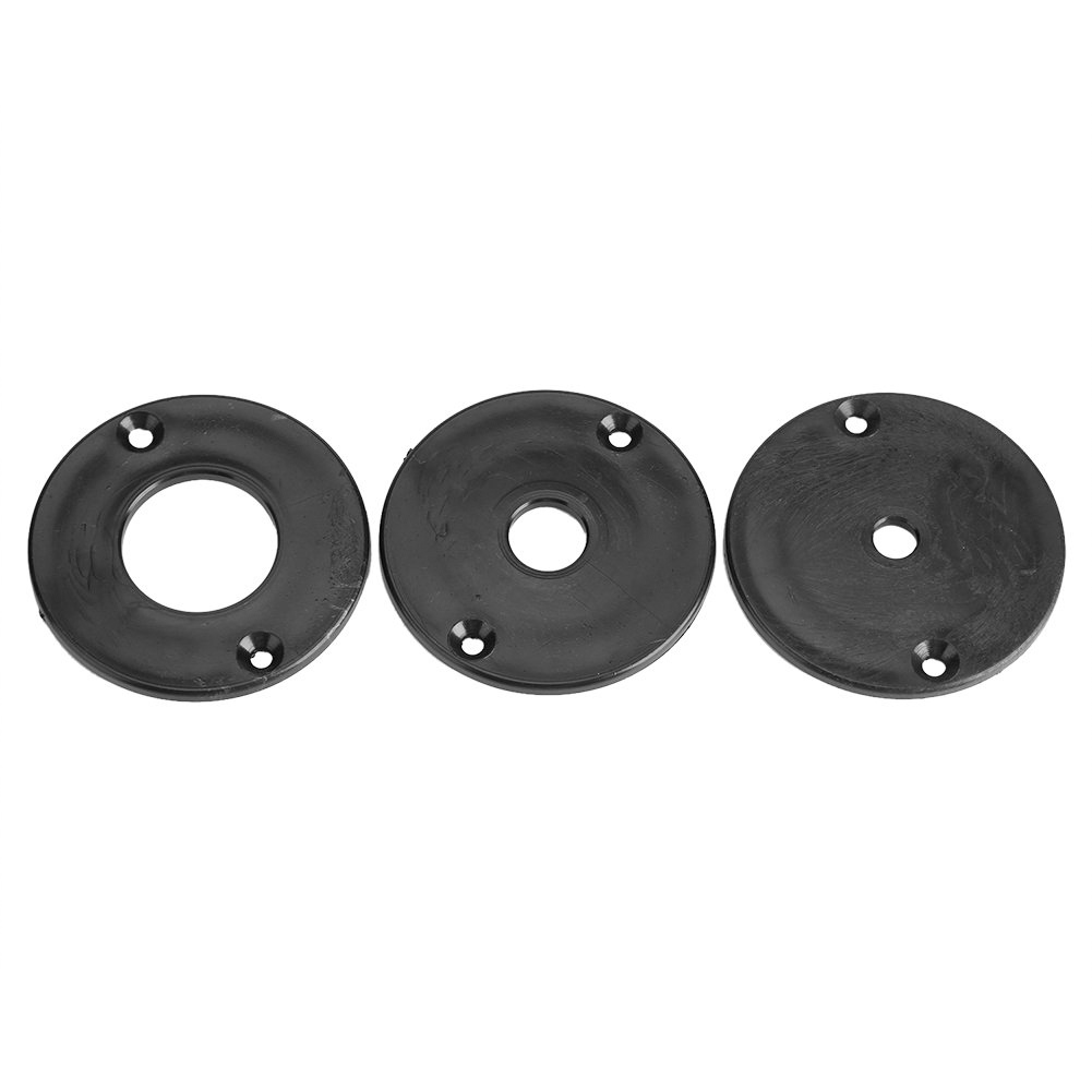Aluminum Router Table Insert Plate With Rings And Screws For Woodworking Benches SKD88
