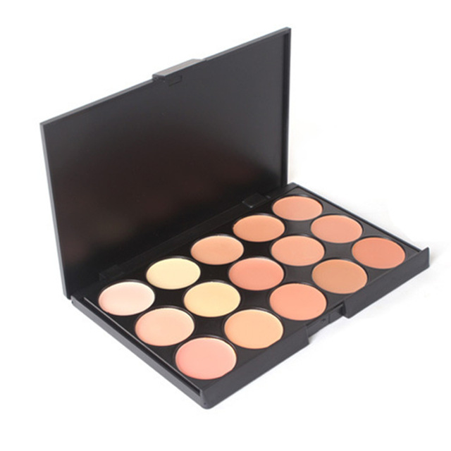 15 Colors Makeup Foundation Concealer Palettes 1