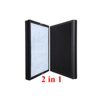 Air purifier filter For Tcl TKJ 220F/240F/248F crude fiber coconut special activated carbon composite filter hepa PM 2.5