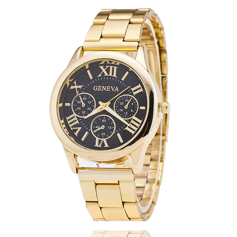 Womens Watches Top Brand Luxury Business Fashion Ladies Watch Female Gold Watch Casual Quartz Wristwatch Relogio Feminino(China)