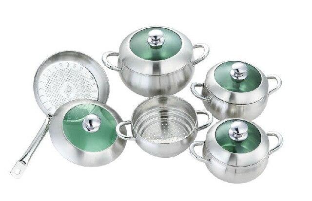 alat memasak kualitas terbaik msg stainless steel apple pot set peralatan masak panela wajan hot