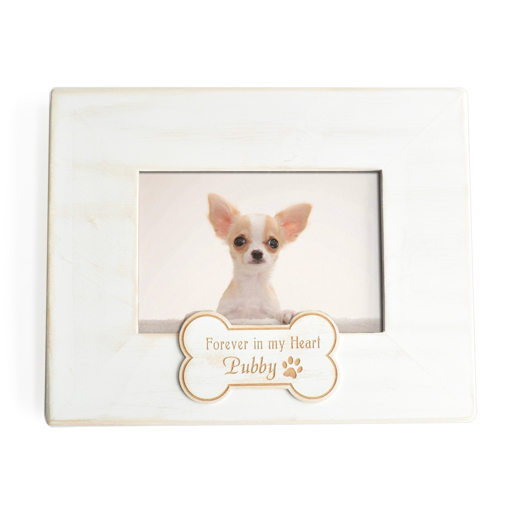 Personalized Pet Photo Frame,Engrave Wood Picture Frame with Name ...