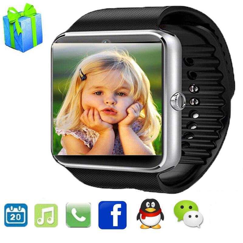 imágenes para Bluetooth Reloj Inteligente GT08 U8 Digital de Muñeca Con Hombres Deporte Reloj para el iphone Samsung Huawei Android IOS Teléfono PK DZ09 A1 Gv18