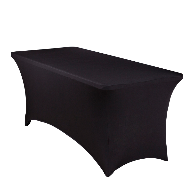 10pcs 6ft 8ft Spandex Rectangular Fitted Tablecloth