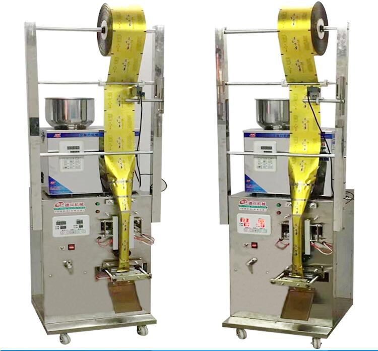 Automatic Cursor Positioning Sealing Machine, Granules,food, Medicinal Material, Tea Bags Back Seal Automatic Packaging Machine
