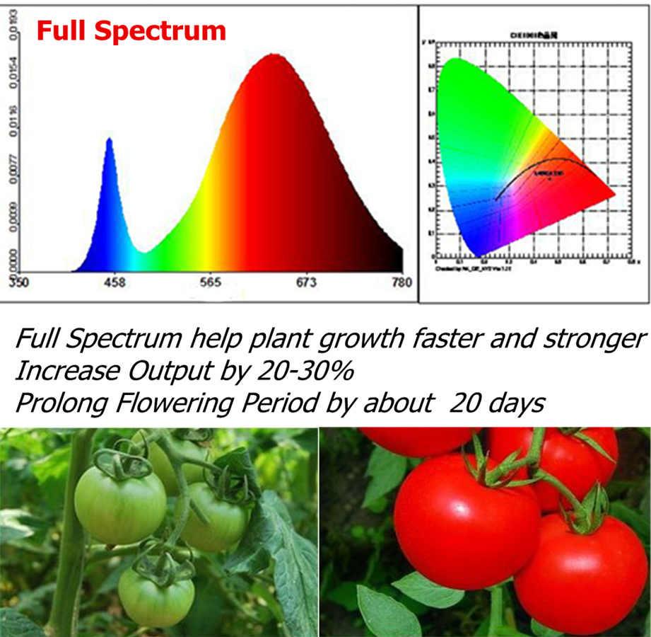 T5 полный Secptrum белый T5 светодиодный свет роста бар комнатная фитолампа 30 см Упаковка из 4