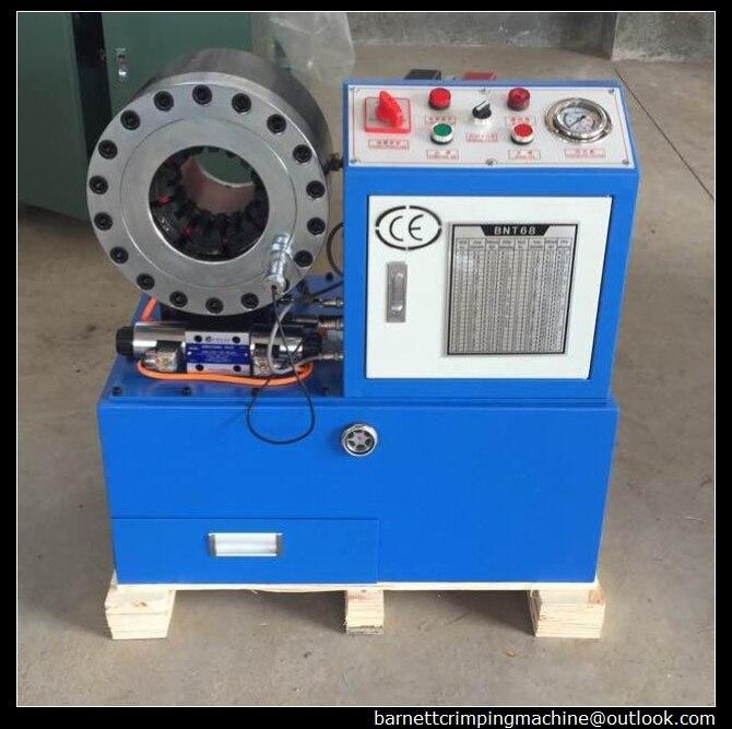 Nouveaux produits pour 2019! 2 pouces hydraulique haute pression tuyau sertissage machine CE tuyau sertisseur pour raccord de tuyau hydraulique
