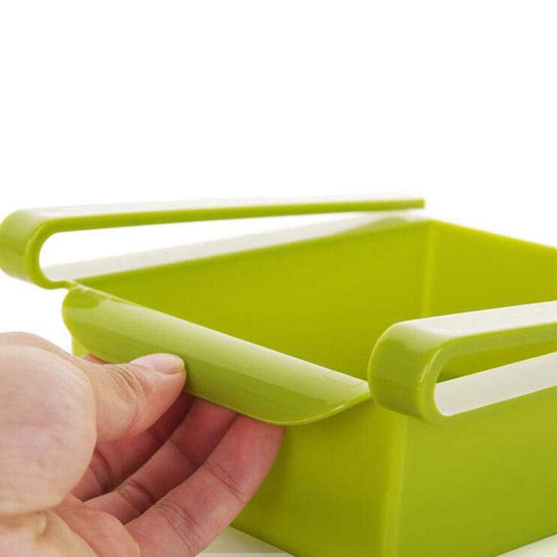 Economic refrigerator storage box fresh spacer layer storage rack creative kitchen supplies twitch type drawer 8