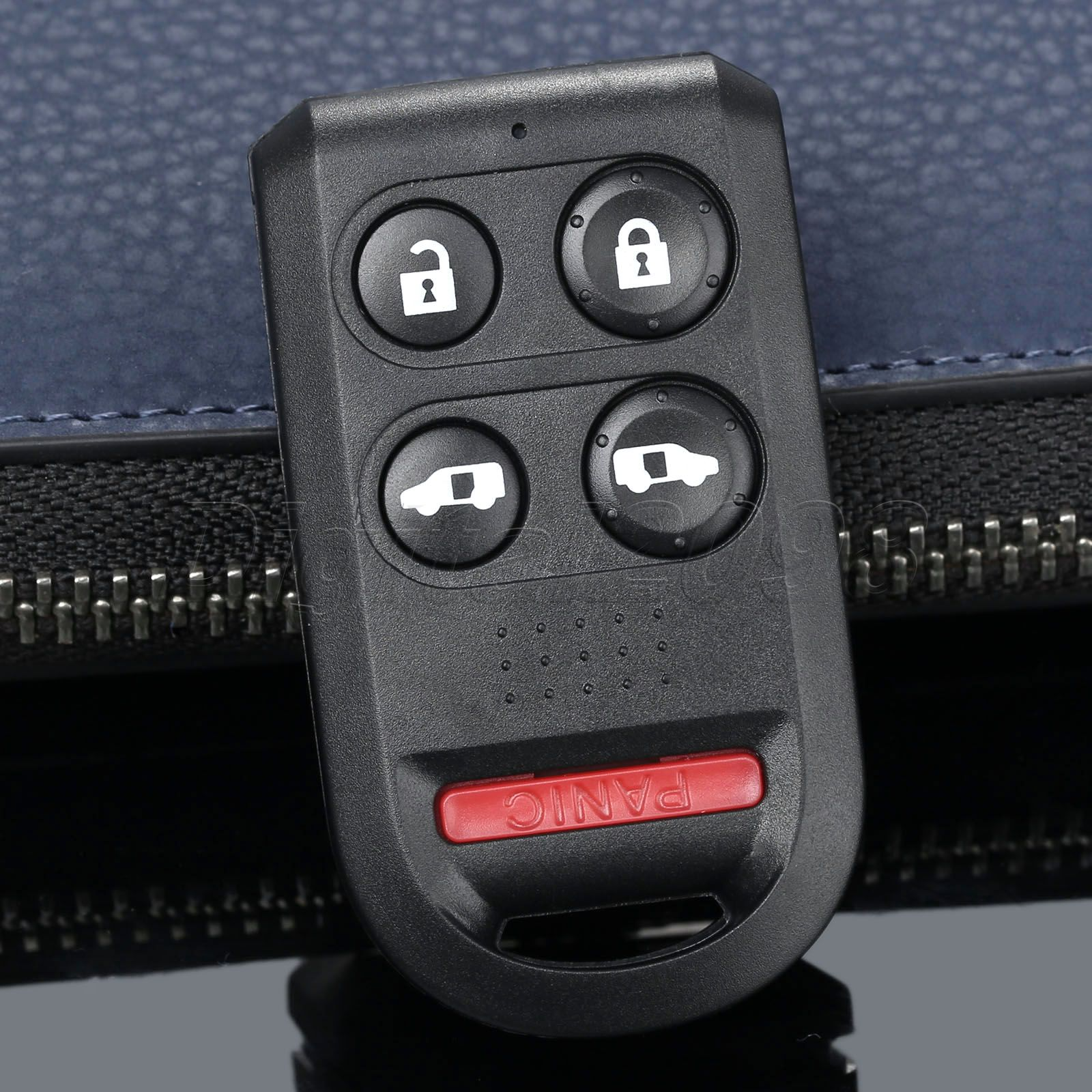 Yetaha 1pc replacement keyless entry remote key fob case shell for honda odyssey 2005 2010