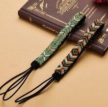 Fashion Bohemian Female Hairband Hand-bead Elastic Headband Simple Beads Hairband Headwear Women Accessories