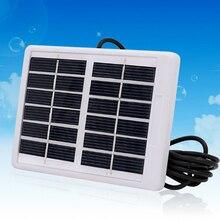 HOT 6V 1.2 واط لوحة طاقة شمسية الكريستالات وحدة الخلايا الشمسية durable شاحن مقاوم للماء ضوء الطوارئ التخييم